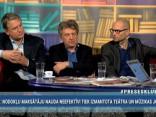 """""""Preses Klubā"""" viesos: Andrejs Ēķis, Ivars Āboliņš un Nauris Puntulis"""