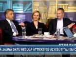 """""""Preses Klubā"""" viesos: Ivars Eglītis, Baiba Broka un Juris Jansons"""