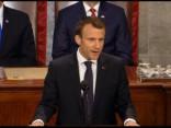 Makrons ASV Kongresā nopeļ nacionālisma un izolēšanās politiku