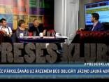 """""""Preses Klubā"""" viesos: Viesturs Silenieks, Māris Gailis un Vija Kilbloka"""