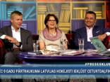 """RīgaTV 24 raidījumā """"Preses klubs"""" izskan, ko sabiedrībā pazīstami cilvēki apņemas izdarīt, ja Latvijas hokeja izlase šovakar uzvarēs zviedrus"""