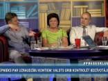 """""""Preses Klubā"""" viesos: Imants Parādnieks, Ints Teterovskis un Ināra Pētersone"""