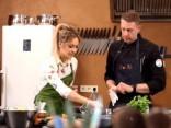 """Itāļu virtuve un gatavošanas prieks kopā ar bērniem - """"Nu Ko, gatavosim?"""" viesojas """"Culinarium studijā"""""""