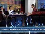 """""""Preses Klubā"""" viesos: Jūlija Stepaņenko, Arnis Krauze, Raimonds Bartaševičs"""