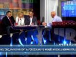 """""""Preses Klubā"""" viesos: Ģirts Rungainis, Aija Šmidre, Guntis Beļēvičš"""