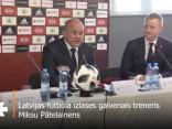 Pātelainens: Gribam atgriezt ticību Latvijas futbola izlasei
