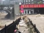 Mērilendas štatā ASV izcēlušies postoši plūdi