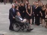 ASV eksprezidents Bušs vecākais ievietots slimnīcā