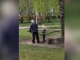 Пожилой рижанин и его собака - 1