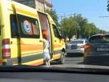 """Ceļu satiksmes negadījums Brīvības gatvē pie t/c """"Alfa"""""""