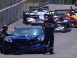 Nedienas IndyCar seriālā: GM menedžeris pirms sacensībām sasit drošības mašīnu