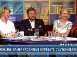 """Preses Klubā"" viesos: Ilze Jurkāne, Anda Čakša un Andrejs Klementjevs"