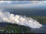 Havaju salās turpinās vulkāna izvirdums