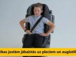 Bērnu sēdeklīša pareiza lietošana