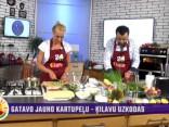 Zane Vaļicka gatavo siltos spāņu salātus