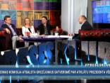 """""""Preses Klubā"""" viesos: Inese Lībiņa-Egnere, Guntars Grīnums un Arnis Kaktiņš"""