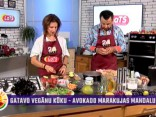 Terēze Strautmane gatavo vegānu kūku - Avokado Marakujas Mandalu