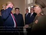Trampa salutēšana Ziemeļkorejas ģenerālim raisa asas diskusijas