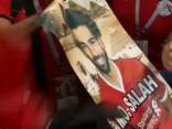 Ēģiptes un Urugvajas futbola fani ierodas uz maču
