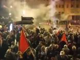 Protestos pret valsts nosaukuma maiņu Maķedonijā aizturēti 25 cilvēki
