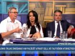"""""""Preses Klubā"""" viesos: Indulis Emsis, Ints Dālderis un Žaklīna Cinovska"""