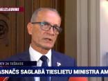 Saeimā neuzticības balsojums tieslietu ministram Rasnačam