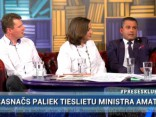 """Preses Klubā"" viesos: Hosams Abu Meri, Arnis Krauze un Evita Zālīte-Grosa"