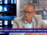 Rasnačs, ciemojoties RīgaTV 24, apvaino televīziju propagandas veidošanā