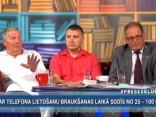 """""""Preses Klubā"""" viesos: Kārlis Leiškalns, Jānis Āboliņš un Mārtiņš Šics"""