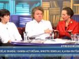"""""""Preses Klubā"""" viesos: Velta Puriņa, Valters Krauze un Līga Meņģelsone"""