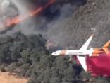 Kalifornijā turpinās savvaļas ugunsgrēku dzēšana