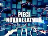 Pieci Novadi Latvijā 3.07.2018
