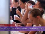 Ciemos pie Liepājas deju kolektīviem pirmajā Dziesmu un Deju svētku dienā
