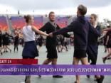 """Daugavas stadionā sākušies mēģinājumi deju lieluzvedumam """"Māras Zeme"""""""