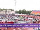 """Koncerta """"Māras zeme"""" mēģinājums Daugavas stadionā"""
