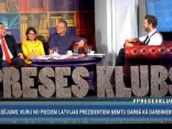 """""""Preses Klubā"""" viesos: Guntis Belēvičs, Rūta Muktupāvela un Didzis Šmits"""