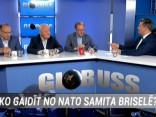 """Raidījumā """"Globuss"""": Ko gaidīt no NATO samita Briselē?"""