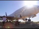 """""""Pamestā"""" lidmašīna Taizemē"""