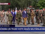 Kanādas premjerministrs Džastins Trudo viesojas Latvijā