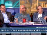 """""""Preses Klubā"""" viesos: Filips Rajevskis, Aigars Bikše un Aleksandrs Kiršteins"""