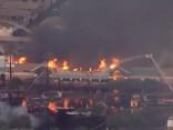 ASV pārtikas veikalā plosās liels ugunsgrēks