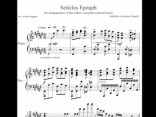 Noklausies pasaulē senāko muzikālo kompozīciju – Seikila epitāfiju