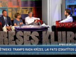 """Preses Klubā"" viesos: Otto Ozols, Edgars Tavars un Vija Kilbloka"
