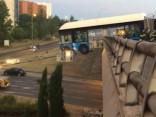 Madridē autobuss cietis negadījumā