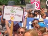 В Хельсинки протестуют против встречи Трампа и Путина