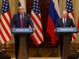 Trampa un Putina tikšanās Helsinkos