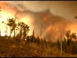 Kalifornijā turpinās savvaļas ugunsgrēki