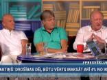 """""""Preses Klubā"""" viesos: Arno Jundze, Dzintris Kolāts un Valdis Kalnozols"""