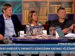 """Preses Klubā"" viesos: Rihards Kols, Baiba Fromane un Arnis Blodons"