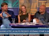 """""""Preses Klubā"""" viesos: Elmārs Tannis, Andrejs Klementjevs un Elīna Siliņa"""
